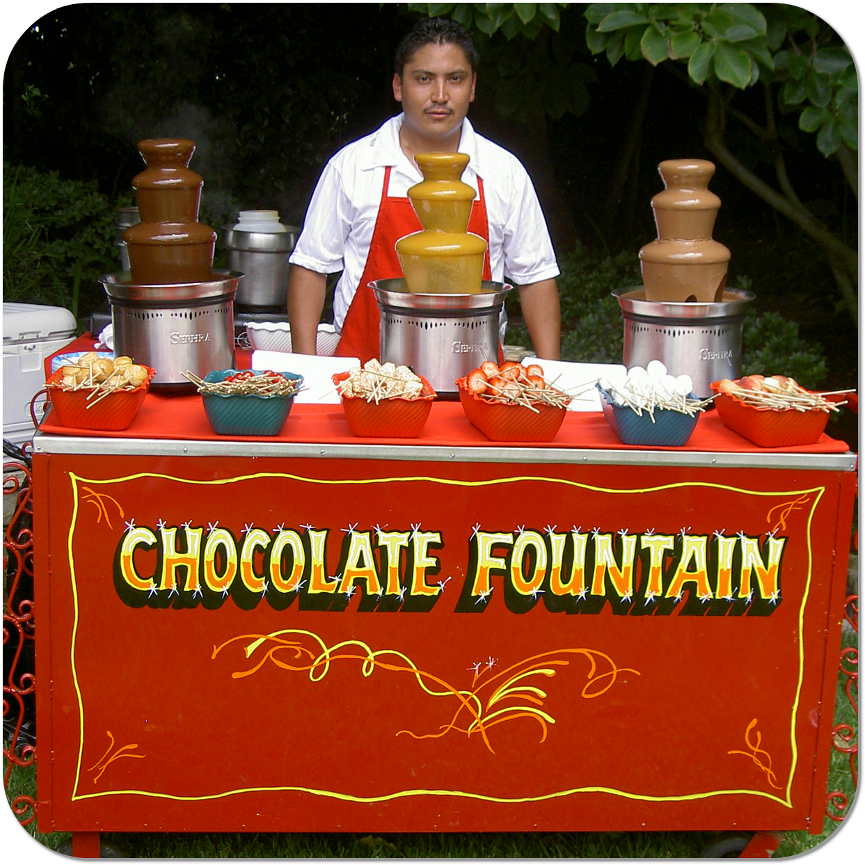 Chocolate Fountain Cart in Los Angeles, CA