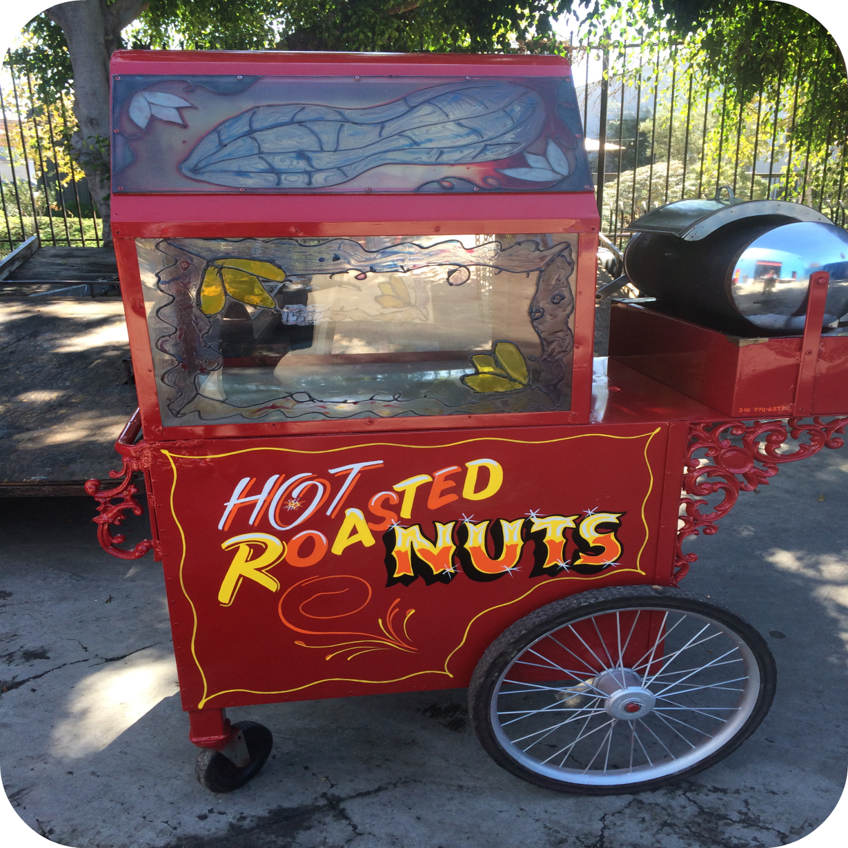 Roasted Chestnuts Cart in Los Angeles, CA