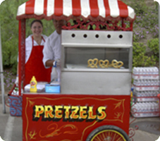 Pretzels Cart in Los Angeles, CA