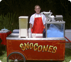 Snow Cone Cart in Los Angeles, CA