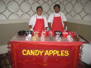 Candy Apples Cart in Los Angeles, CA