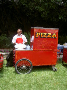 Pizza Cart in Los Angeles, CA