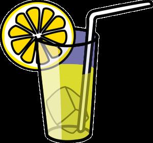 We Have Lemonade In Our Drink Cart!