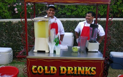 Stay Hydrated With Our Cold Drinks Cart