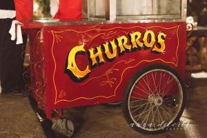 Churros Cart at Cinco de Mayo Party