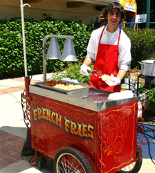 French Fry Cart at a Food Cart Party