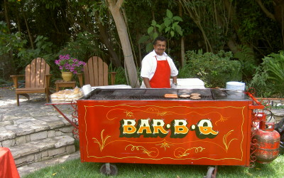 4th of July Party Catering by Vintage Food Carts