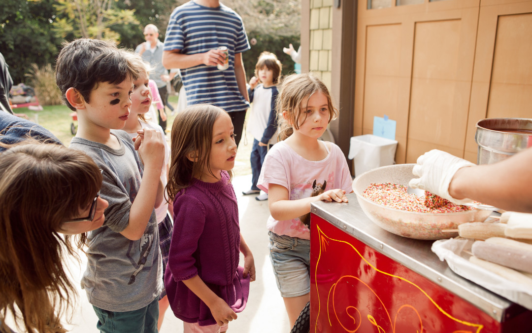 Back-to-School Party Catering Features Food Cart Fun