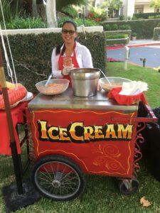 Ice Cream Cart in Los Angeles, CA