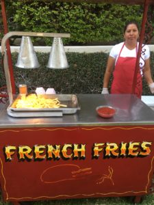 French Fries Cart in Los Angeles, CA
