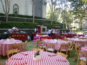 Picnic Food Cart Party in Los Angeles
