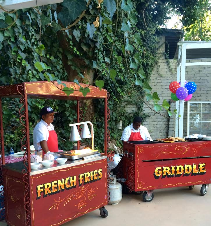 Back To School Food Cart Party Los Angeles Food Cart Catering